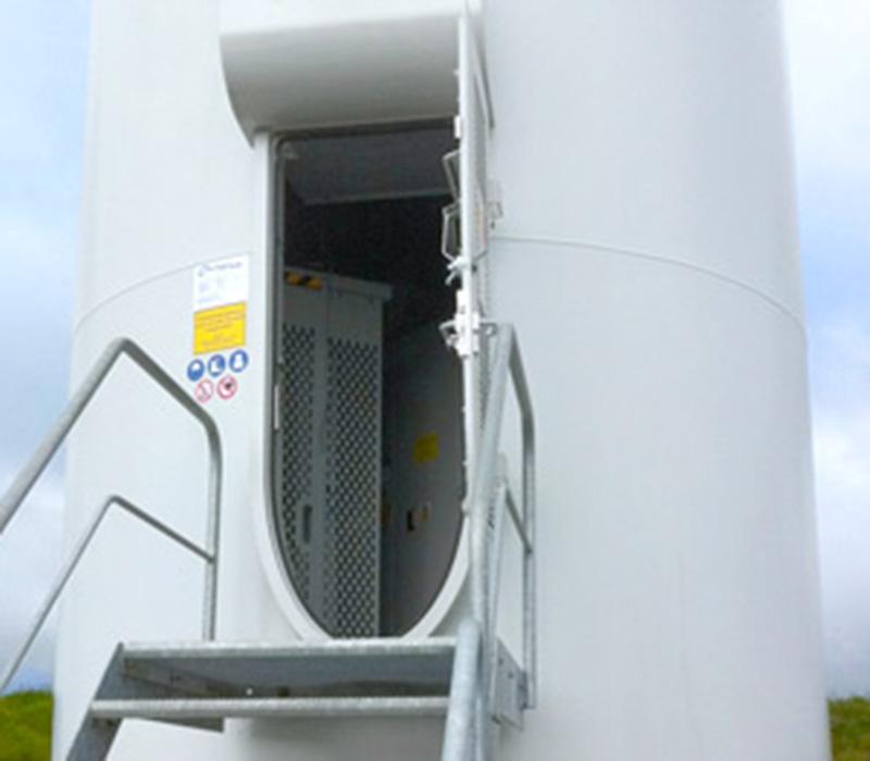 Nordex Tower Lift Barrier