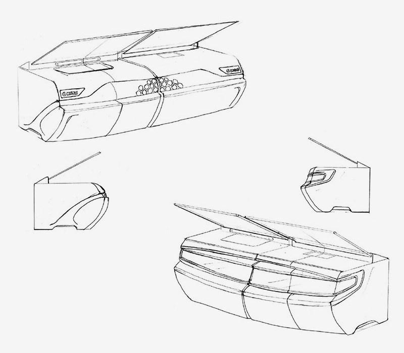 Brief Ceres Automotive Holographic Transparent Display System