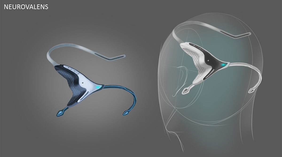 Modius - Weightloss Headband Concept sketch 3