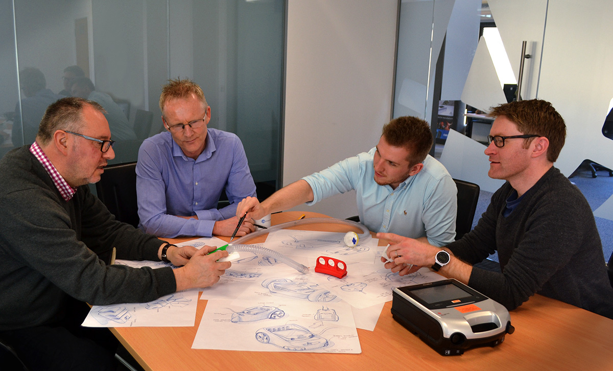 Collaboration between i4 Product Design and Napier University to speed development of assisted living aids
