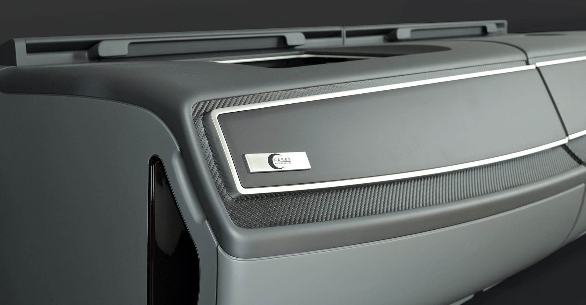 Design Ceres Automotive Holographic Transparent Display System